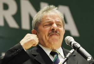 Lula voltou a negar que será candidato em 2014 - Foto: Marcos Alves / Agência O Globo