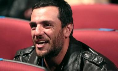 O ator Rodrigo Lombardi no 41º Festival de Cinema de Gramado Foto: Edison Vara/PressPhoto / Divulgação