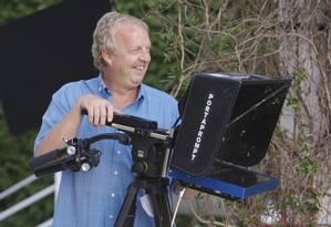 O cinegrafista Mick Deane, da emissora britânica SkyNews: morte no Cairo Foto: Sky News / AP