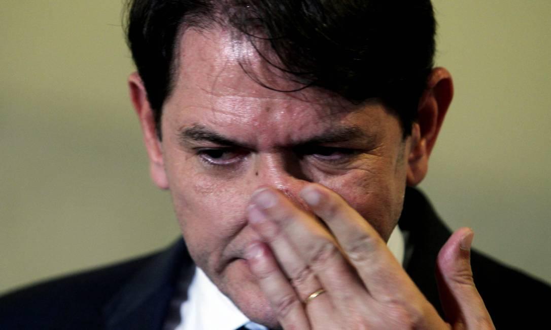 Cid Gomes, governador do Ceará Foto: Gustavo Miranda/ Agência O Globo