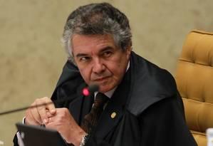 Ministro Marco Aurélio condenou atitude de Joaquim Barbosa durante bate-boca com Lewandowski Foto: Ailton de Freitas / O Globo