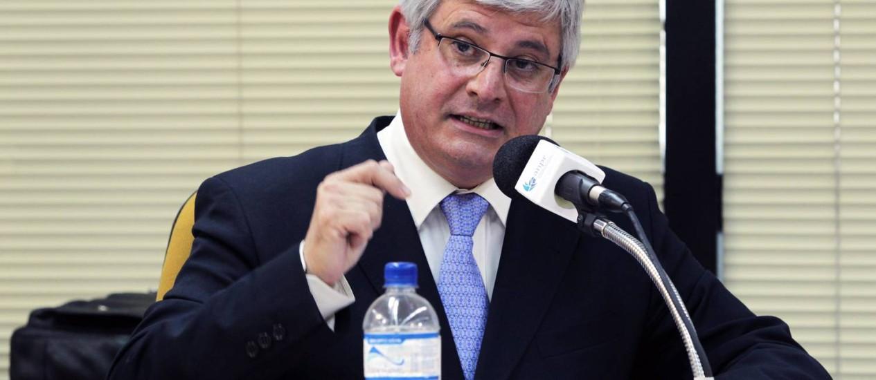 Rodrigo Janot, procurador-geral da República Foto: Sérgio Marques / Agência O Globo