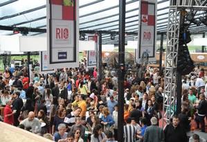 Cerca de 16 mil pessoas passaram pelo Circuito Rio Gastronomia no fim de semana Foto: Adriana Lorete/O Globo