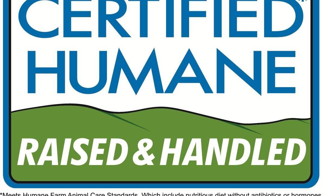 Também certificado pela Ecocert, este selo está normalmente em carnes e outros produtos de origem animal, como ovos, leite, queijos e lã. Ele significa que os animais foram bem tratados antes de serem abatidos, e não viveram em condições insalubres. Foto: Reprodução