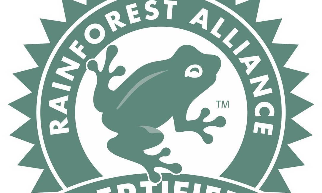 Certificados pela Imaflora no Brasil, os produtos que têm este símbolo respeitam tanto o meio ambiente quanto as condições de salubridade dos trabalhadores. É encontrado em produtos agropecuários, como laranja, café e carne Foto: Reprodução