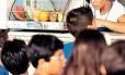 Lanchonete de escola no Rio com alimentos saudáveis a venda