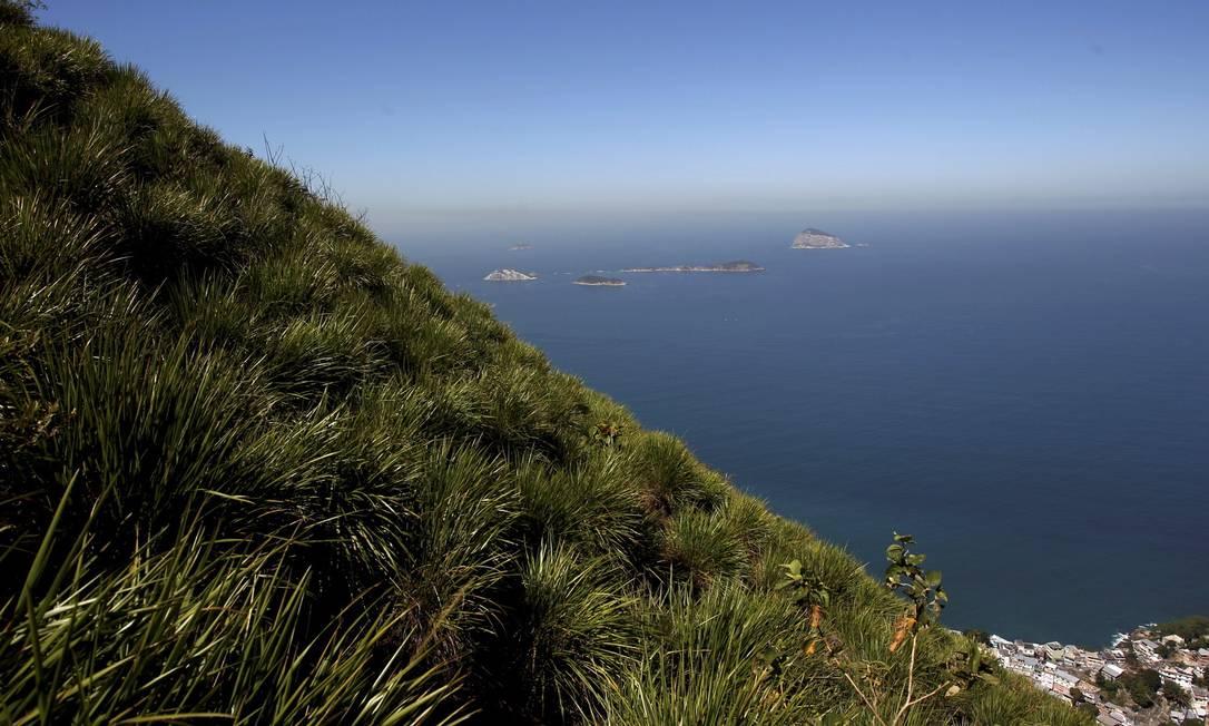 As ilhas Cagarras fazem parte do extenso leque de paisagens... Custódio Coimbra / Agência O Globo