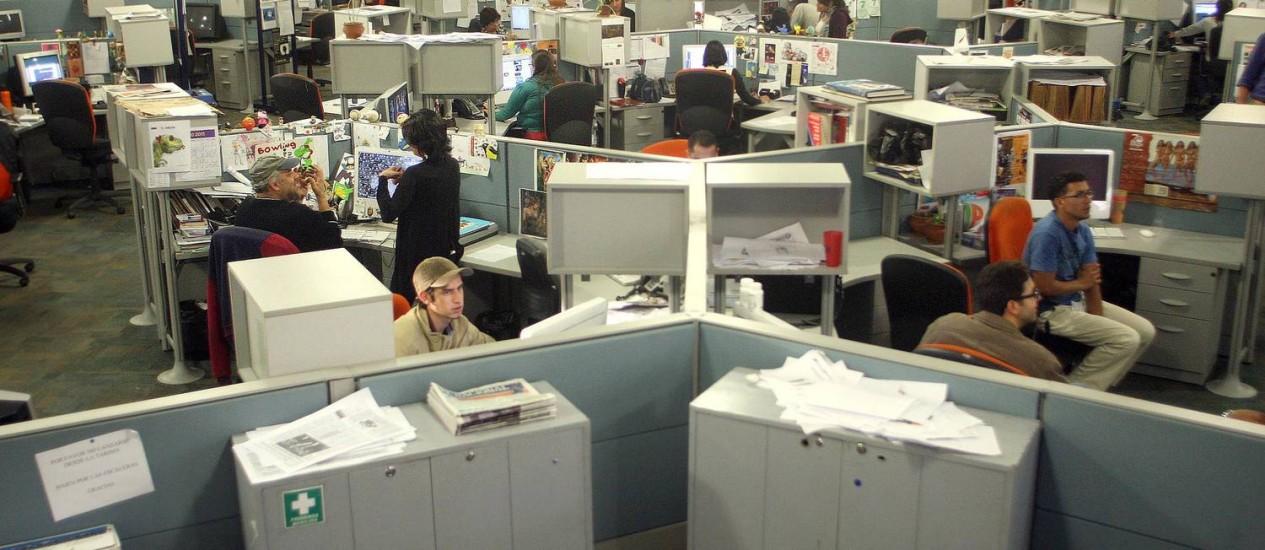 Redação do 'El Nacional': Jornal foi multado em 1% do faturamento por publicar foto de necrotério superlotado Foto: El Nacional