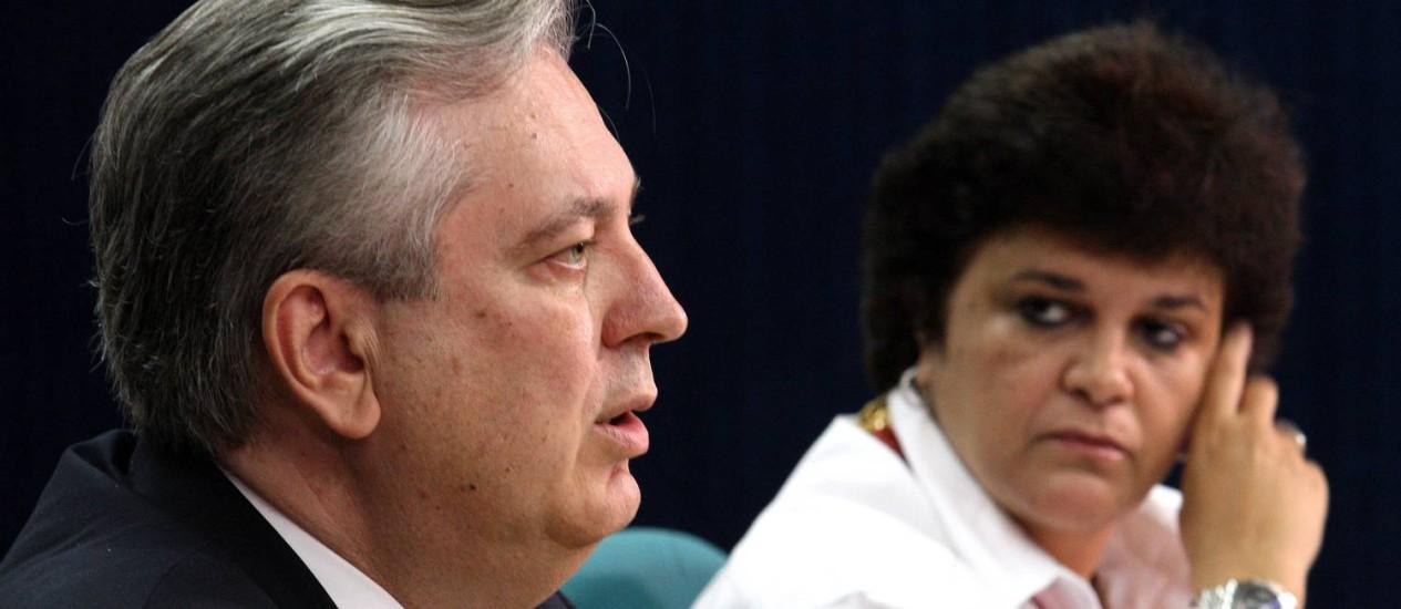 Luiz Alberto Figueiredo, durante apresentação do documento que projetava as visões da Rio+20 Foto: Gustavo Miranda / Agência O Globo