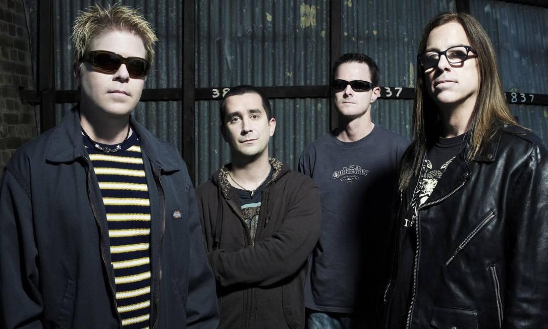 A banda Offspring Foto: Divulgação