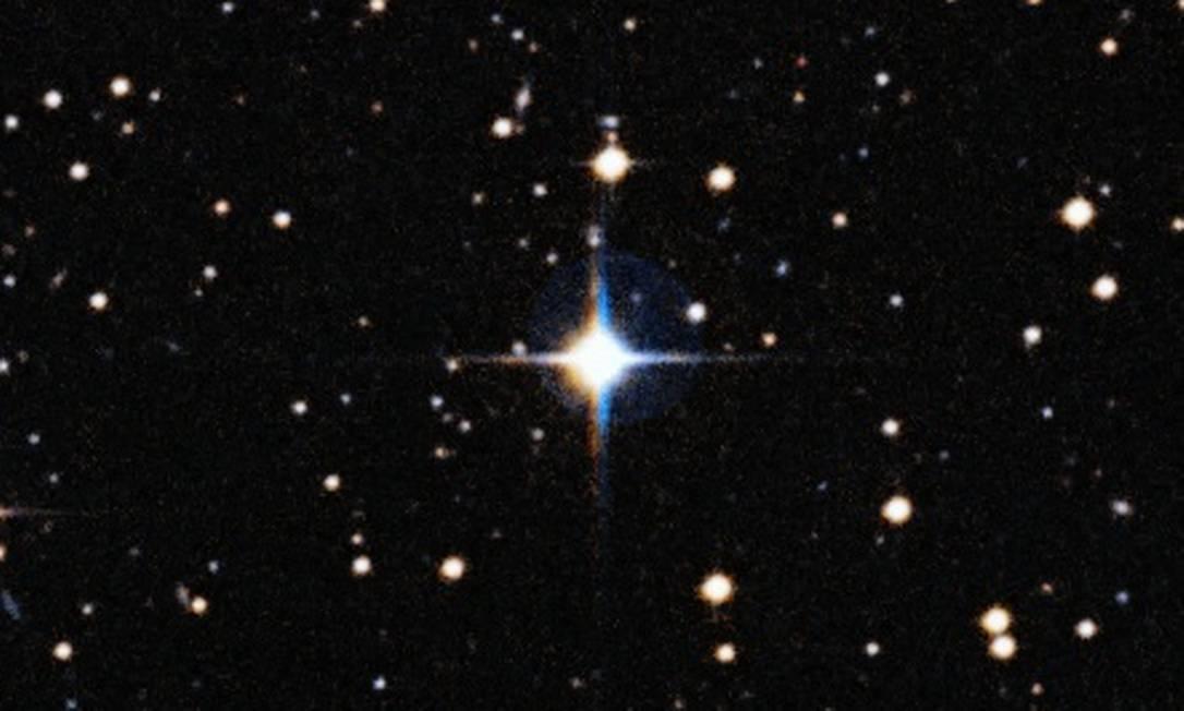 A estrela HIP 102152: com 8,2 bilhões de anos de idade, ela é a mais velha estrela parecida com o Sol já encontrada Foto: ESO