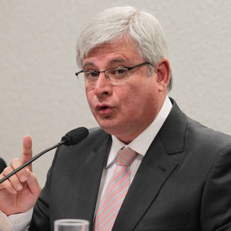 Rodrigo Janot durante sabatina na Comissão de Constituição e Justiça do Senado Foto: Ailton de Freitas / O Globo 29/08/2013