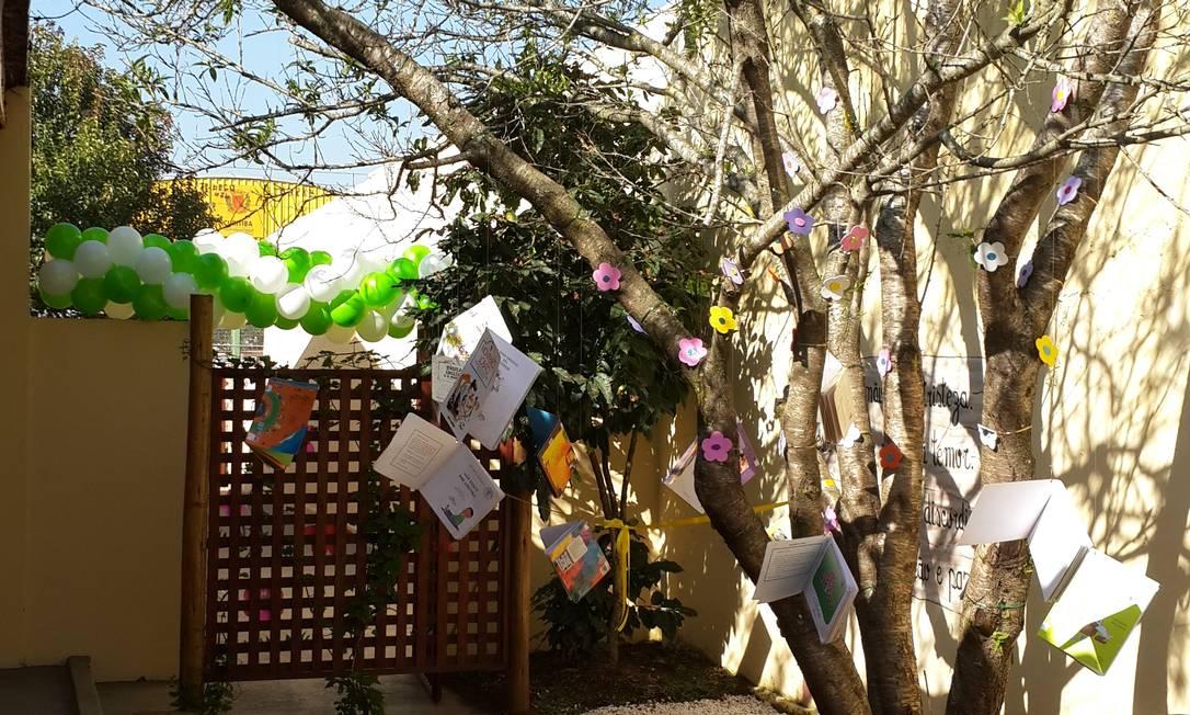 Espaço foi montado com ajuda de verba reunida em festa junina Foto: Arquivo Pessoal