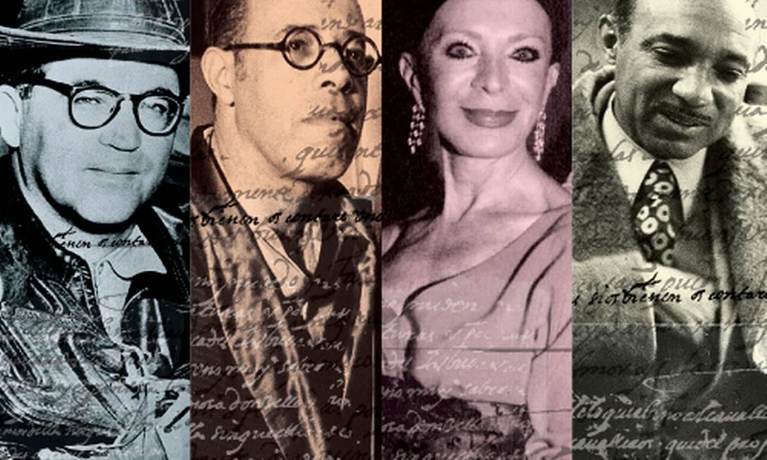 Código Civíl proíbe publicação da vida de personagens célebres em biografias não-autorizadas Foto: Montagem