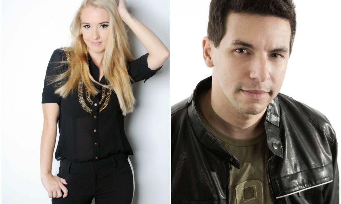 Carolina Munhóz e Raphael Draccon: casal de escritores popstars Foto: Divulgação / Wagner Carvalho e Leandro Bergamo