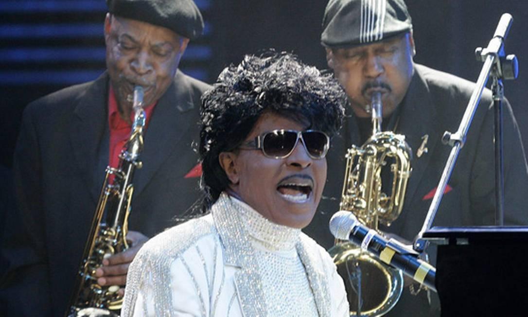 Little Richard em apresentação em 2009 Foto: AP Photo