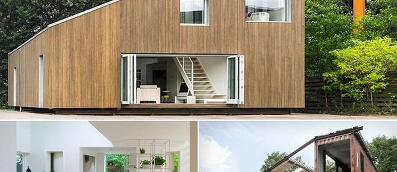 Casa da semana estrutura das paredes feitas com bambu e for Casa home goods