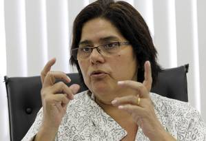 Deputada Janira Rocha (PSOL) Foto: Domingos Peixoto / Agência O Globo