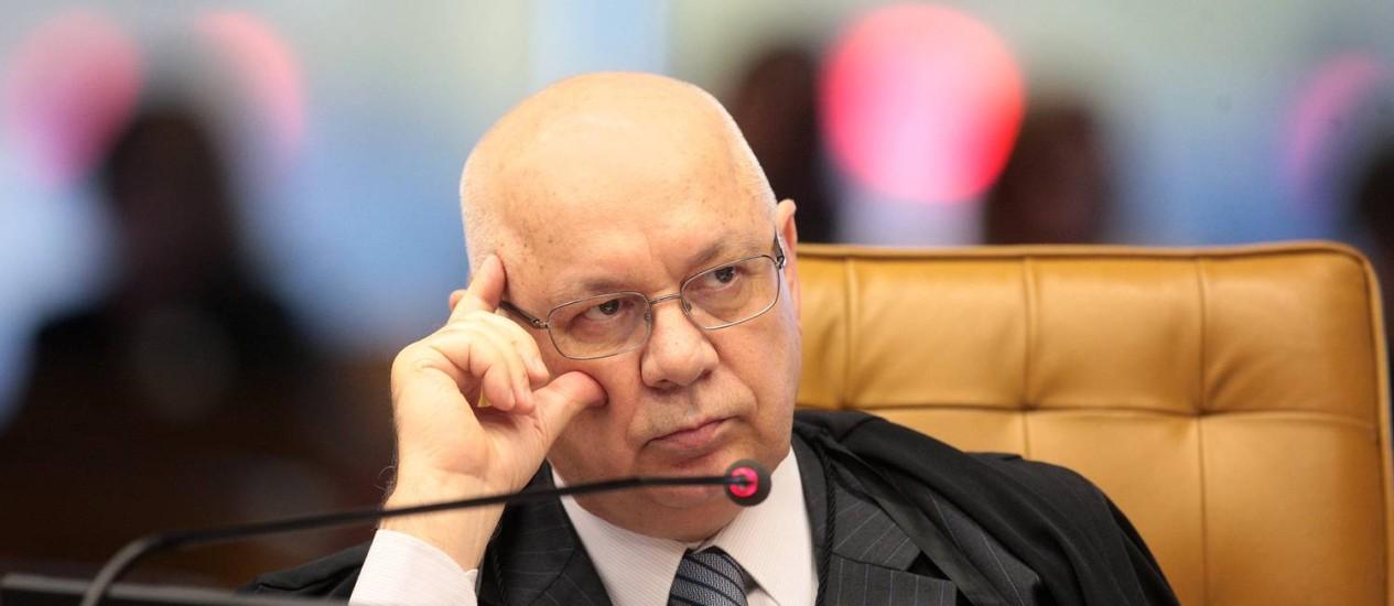 Ministro do STF Teori Zavascki Foto: Divulgação/ STF - 04/09/13