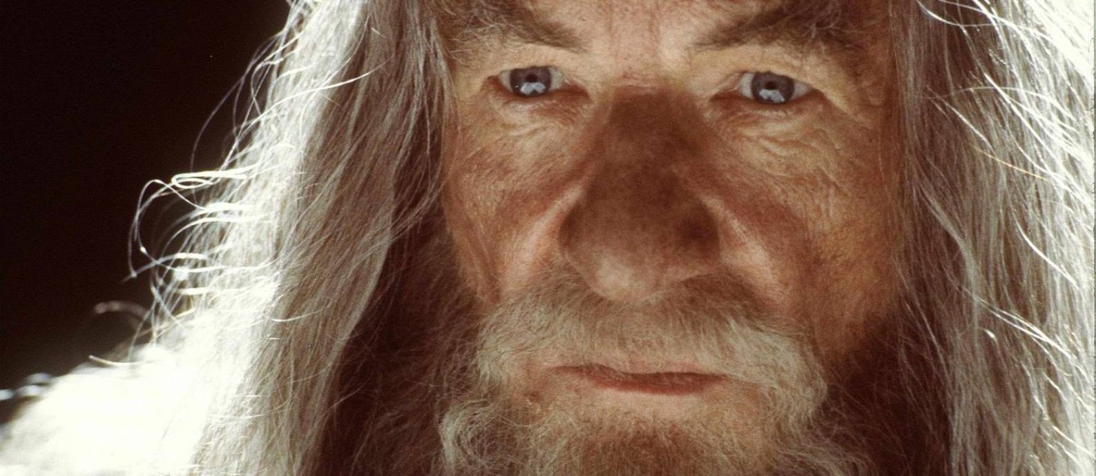 Ian McKellen como Gandalf em 'Senhor dos anéis' Foto: AFP