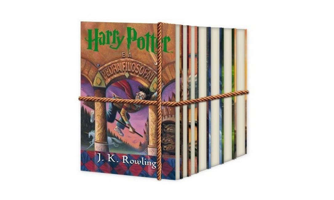 Os sete livros da série 'Harry Potter' Foto: Amazon.com.br / Divulgação