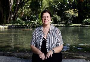 Samyra Crespo: de olho na modernização do parque Foto: Guillermo Giansanti / Agência O Globo