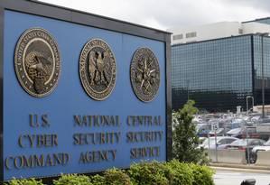 Campus da Agência Nacional de Segurança (NSA) em Fort Meade, Maryland Foto: Patrick Semansky / AP