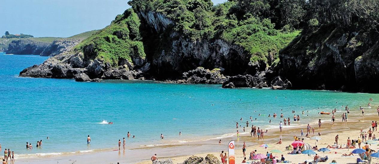 mapa praias norte espanha Astúrias reúne mar, montanhas e História no norte da Espanha  mapa praias norte espanha