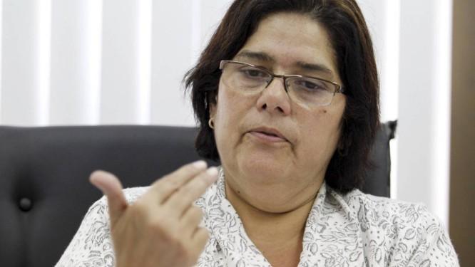 A deputada estadual Janira Rocha, do PSOL Foto: Domingos Peixoto / O Globo