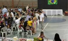 Profissionais formados no exterior encerram treinamento para participar do programa Mais Médicos Foto: Hans von Manteuffel / O Globo