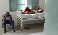 No Posto de Saúde da Família de Santo Antônio de Posse (SP), médico só trabalha duas horas por dia Foto: O Globo / Marcos Alves