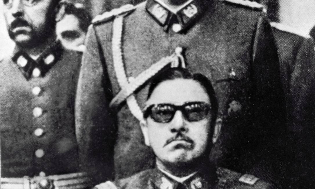 O ex-ditador chileno, Augusto Pinochet, comandou o país desde o golpe de 1973 até 1990 Foto: RIA Novosti / Agência O Globo