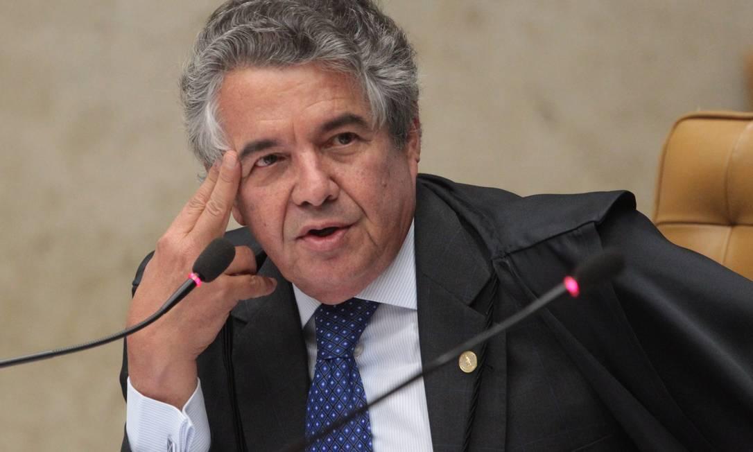 O ministro Marco Aurélio de Mello, do Supremo Tribunal Federal Foto: André Coelho / Agência O Globo