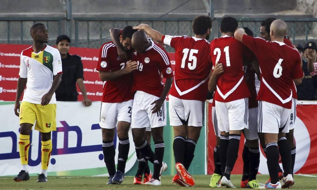 44a3288370b5b O Egito tentará voltar a disputar uma Copa do Mundo contra Gana. A seleção  não