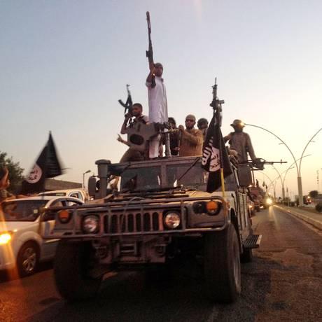 Estado Islâmico divulga documentário sobre tomada de Mossul, no Iraque Foto: AP