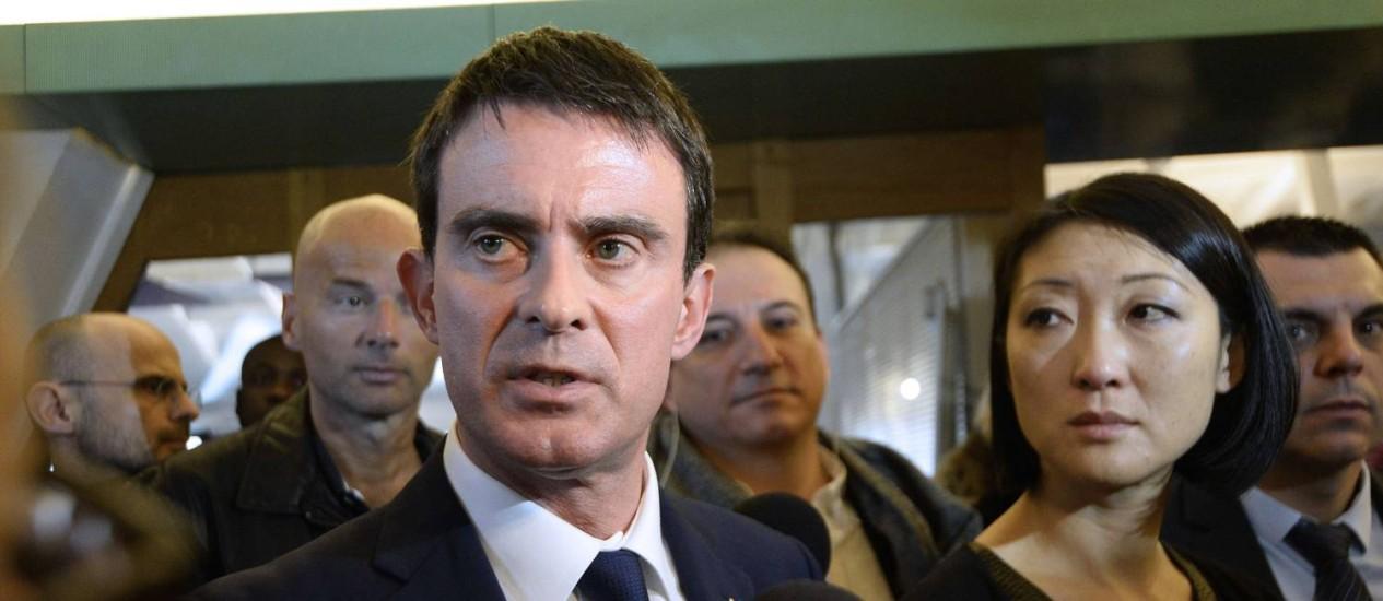 O premier francês Manuel Valls admitiu que houve falhas no sistema de monitoramento de pessoas suscetíveis de cometer atentados. Foto: BERTRAND GUAY / AFP