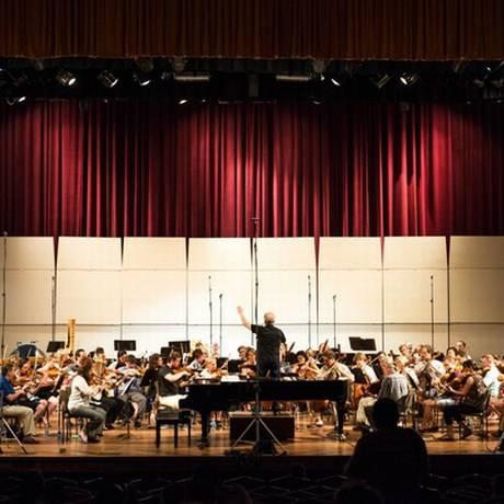 Ensaio da Sinfônica de Minnesota no Teatro Nacional de Havana Foto: Nate Ryan / Minnesota Public Radio