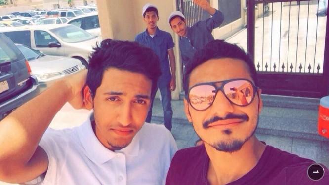 Mohammed Hassan Ali Bin Isa, à esquerda, e Saeed Abdel Jaleel Jumaa al-Arbash Foto: Reprodução/Twitter