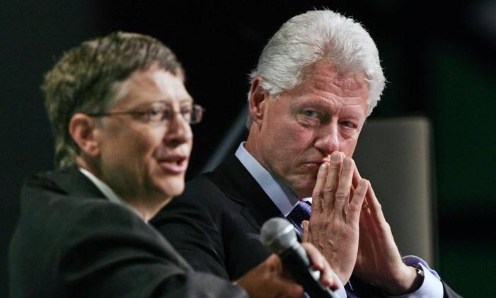 A Fundação Bill e Melinda Gates, do homem mais rico do mundo, e a Fundação Clinton investem bilhões em projetos de combate à AIDS Foto: Norm Betts / BLOOMBERG NEWS