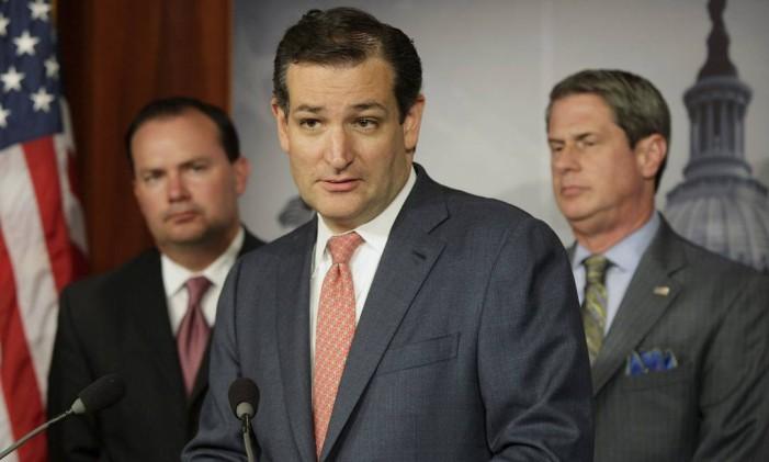 Ted Cruz é uma das figuras mais conservadoras entre os republicanos. É um defensor da imigração legal. Foto: JONATHAN ERNST / REUTERS