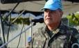 Comandante brasileiro José Luiz Jaborandy diz que ONU não tolera sexto entre militares e haitianos