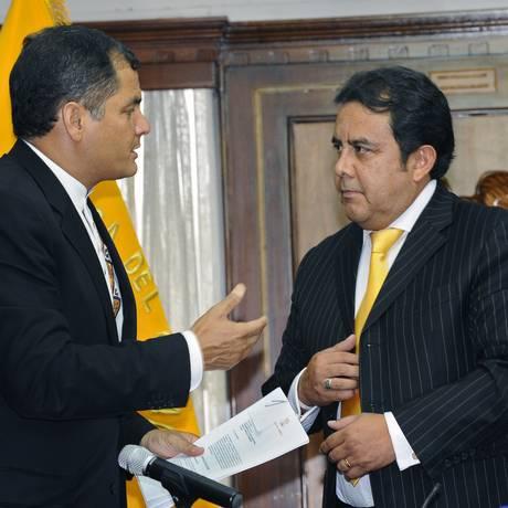 Mais votado, aliado de Correa, Patrício Pazmiño, é eleito para Corte Interamericana de Direitos Humanos Foto: RODRIGO BUENDIA / AFP