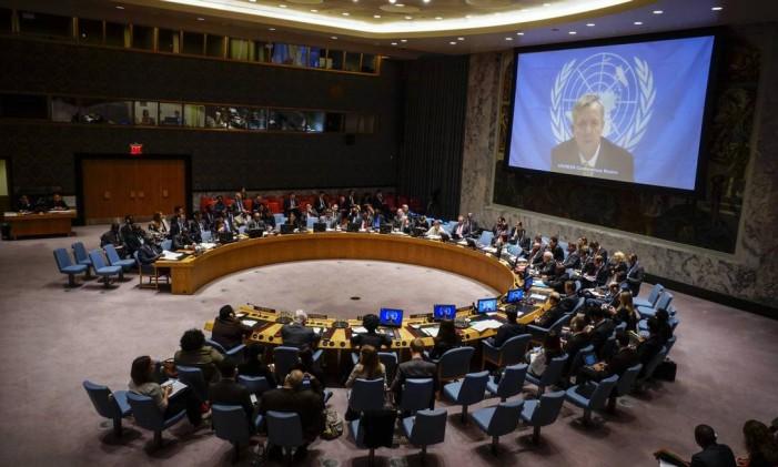 Conselho de Segurança da ONU Foto: EDUARDO MUNOZ / REUTERS