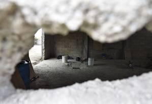 Líder do cartel de Sinaloa escapou por um túnel de 1,5 km Foto: YURI CORTEZ / AFP
