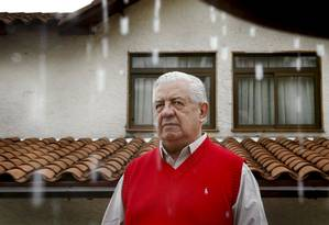 Manuel Contreras, ex-chefe da polícia secreta durante a ditadura no Chile Foto: CARLOS BARRIA / REUTERS