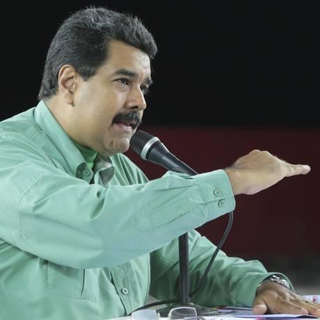 Presidente Nicolas Maduro afirmou que fronteira ficará fechada por 72 horas a partir desta quinta-feira (20) Foto: HANDOUT / REUTERS