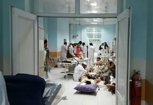 Hospital do Médicos Sem Fronteitas em Kunduz Foto: Divulgação / Médicos Sem Fronteiras