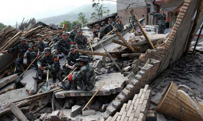 Mais de 350 mil pessoas ficaram feridas Foto: AFP