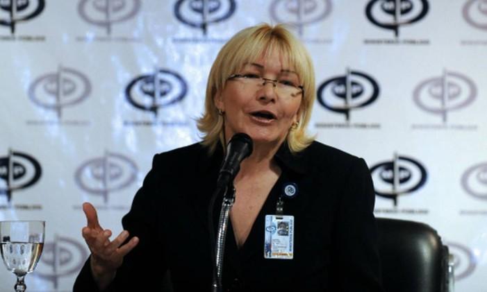 Procuradora geral da Venezuela nega coação a Nieves Foto: AFP