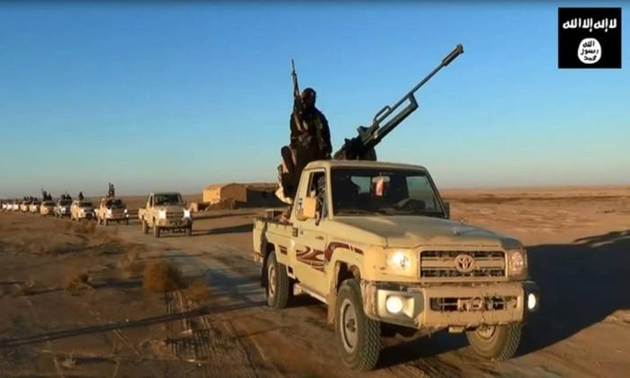 Estado Islâmico Foto: AFP